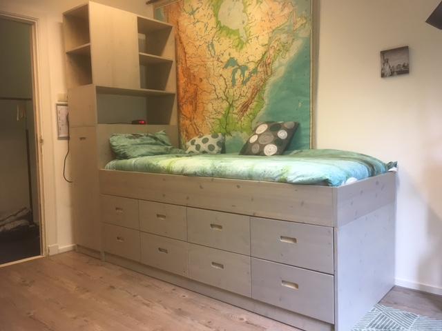 Kast + bed